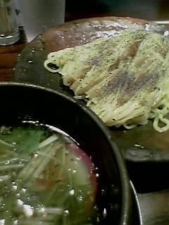 『ぢゃぶ屋  恵比寿』鯛茶つけそば冷 (2005/08/02)