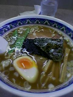 『らーめん麺好  中野富士見町』 らーめん (2005/08/24)