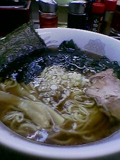『珍珍珍  内幸町』ラーメン(鶏がら) (2005/12/05)