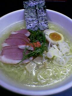 『がんこ元五代目  三田』 冷やしらーめん (2005/08/30)
