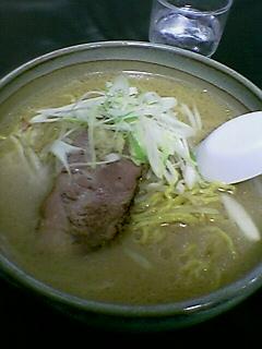 『彩未  新宿』みそらーめん (2005/02/05)