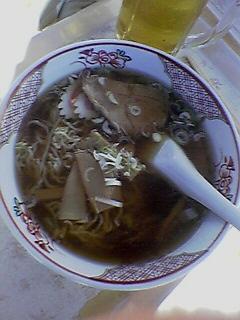 『カフェラウンジ樹里  菅平』ラーメン (2006/01/29)