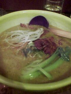 『ABCラーメン  銀座』パーコー麻醤麺